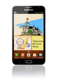 Pressebild des Samsung Galaxy Note N7000