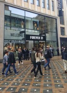 Forever 21 Filiale in Dortmund