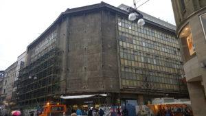 Alte Karstadt Fassade aus den 60ern (Dortmund Westenhellweg)